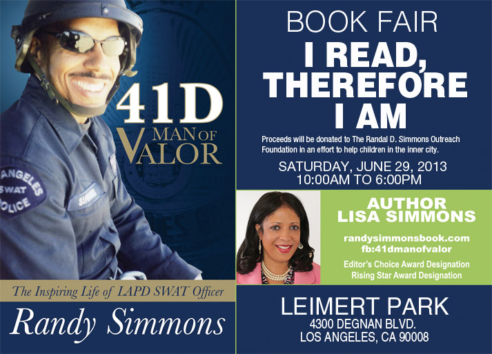 I Read, Therefore, I Am Leimert Park Book Fair